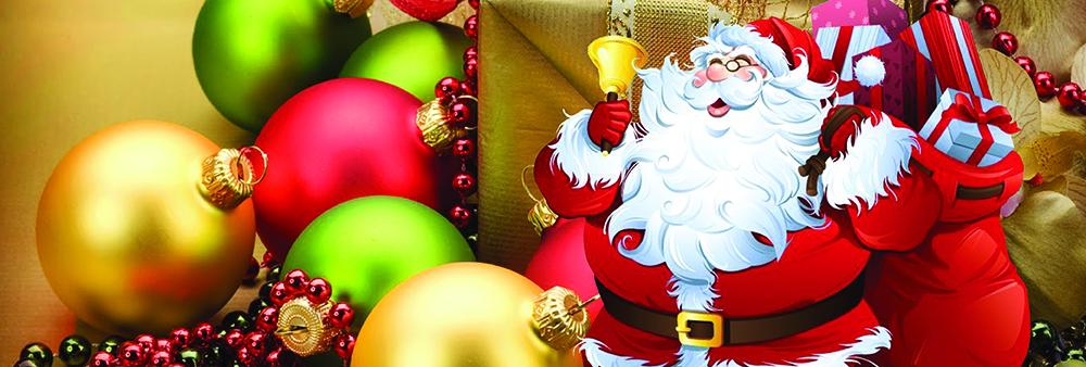 Rezervējiet Salatēva apciemojumu Ziemassvētkos!